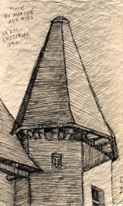 Cone-shaped Roof