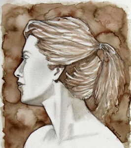 Woman's Profile