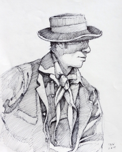 Old West Character Study