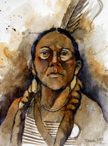 Study: Sioux Warrior