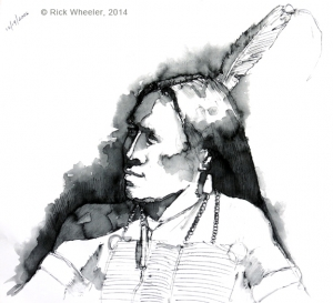 Study: Sioux Warrior 2