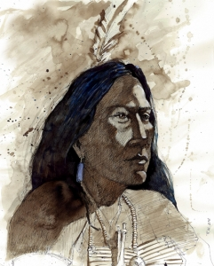 Study: Sioux Warrior 3